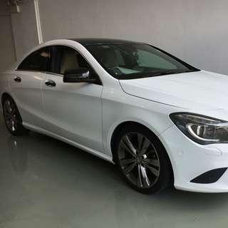 Mercedes-Benz CLA-Class CLA180 Auto