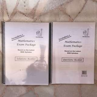 Secondary 2 Maths Exam Package