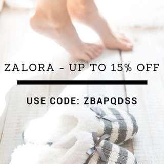 FREE Zalora Voucher Code