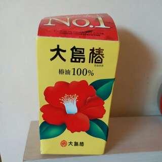 日本大島椿髮尾油60ml