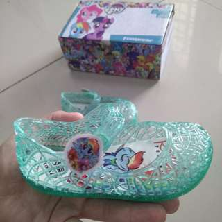 Poney jelly sandal