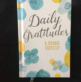 New daily gratitudes a journal to record the good things in my life