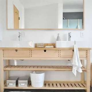 Console table w/3drawers