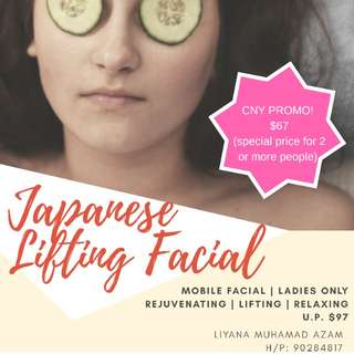 Japanese Lifting Facial