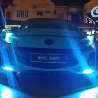 COB Daytime Running Light (DRL) 17CM&14CM ( CAR&MOTORBIKE) LED UNIVERSAL Different colour