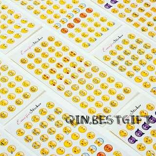 60 Sheets Emoji Sticker