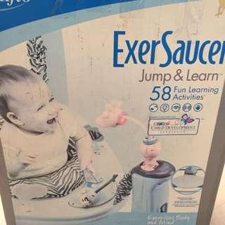 Exer Saucer Jump & Learn 58 activity
