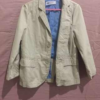 H&m Blazer boys khaki 3-4y