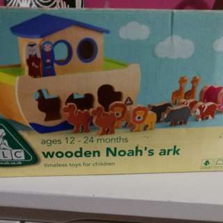 elc 3d animal wooden block