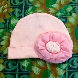 Baby hat and headband