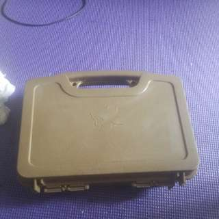 Airsoft gun case used one can fit two air soft pistol