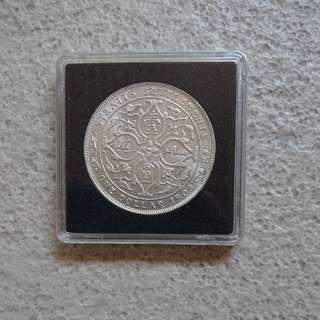 1908 Edward UNC Silver Dollars