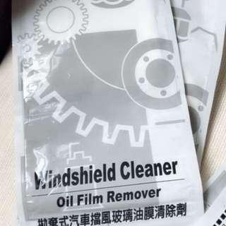 拋棄式汽車擋風玻璃油膜清除劑