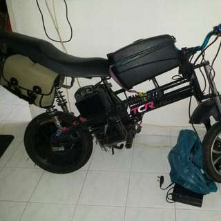 Ebike parts out(seat sold seat rack sold suspension sold)