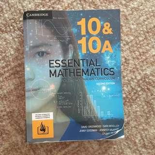 Cambridge essential Maths textbook 10