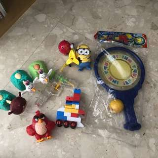 Toys and miscellaneous items give away
