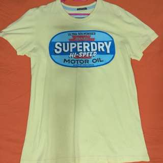 Superdry Mens T Shirt, Size M