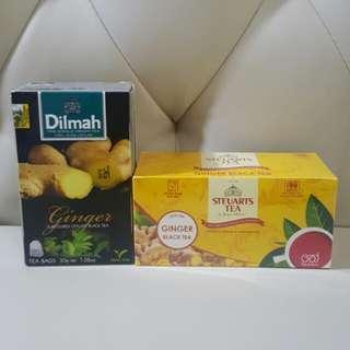 New💜 Ginger Black Tea ~ Dilmah / Steuarts