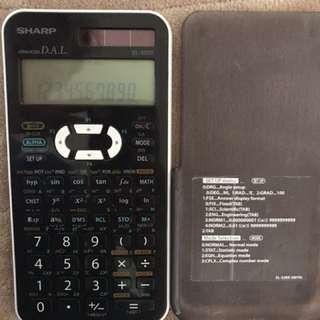 Scientific calculator: SHARP EL-520X