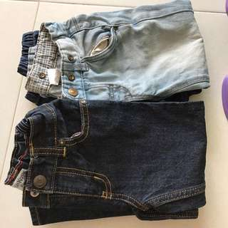 Long jeans for 2-4 years old x4