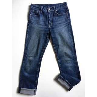 Uniqlo Men's Slim Straight Blue Wash