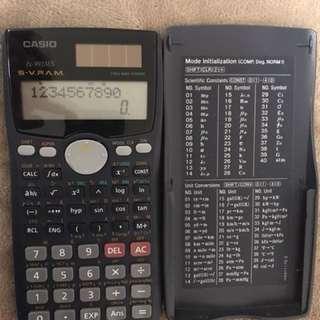 Scientific calculator: CASIO fx-991MS