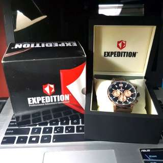 Expedition E6685M Black Rose Gold (BNIB)