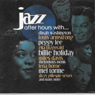 MY CD - JAZZ..AFTER HOURS WITH...../FREE DELIVERY