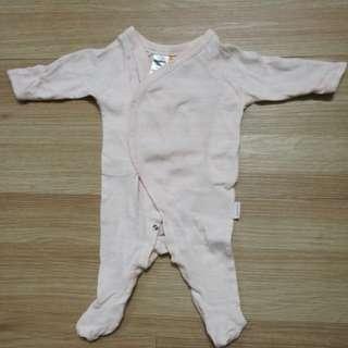 🔖 Preloved BONDS Sleepsuit Newborn
