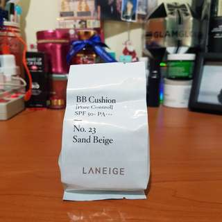 LANEIGE Refill BB Cushion Pore Control - No. 23 Sand Beige (NEW)