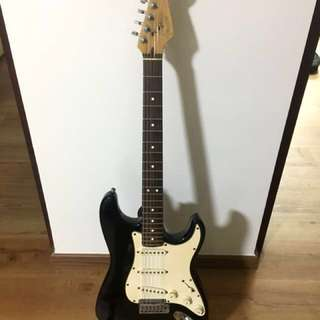 Fender American Strandard Stratocaster black
