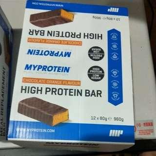 My protein 高蛋白棒 健身好夥伴