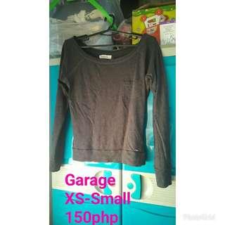 Garage offshoulder longsleeve