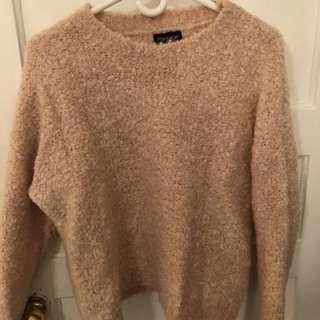 Top shop pink knit