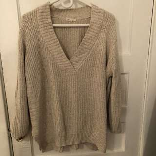 Urban outfitter tan knit