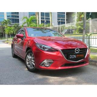 Mazda 3 Hatchback Auto 1.5