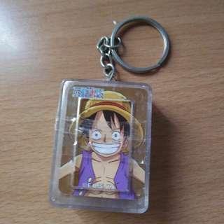 海賊王魯夫樸克牌鑰匙圈