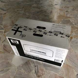 HP Deskjet F370 (All-in-one printer, scanner, Copier