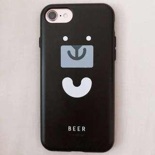 🚚 iPhone 7/8 犀牛盾 PlayProof 臺灣吧聯名設計款 黑啤盾 二手