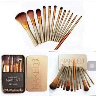 Naked makeup brush