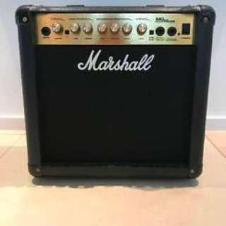 Marshall Amplifier MG 15CDR