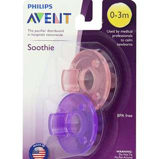 Philips Avent Soothie Pacifier, 0-3m (2 pcs)