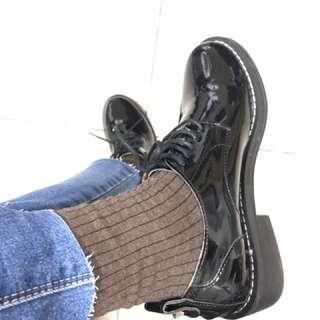 Rei shop購入 完美版型 圓頭皮鞋