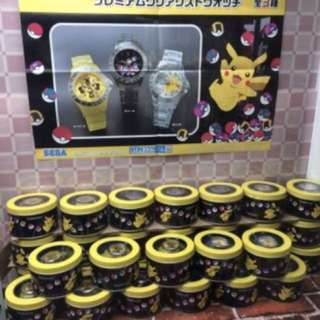 KOAOISORA 3月預訂 Pokemon 寵物小精靈 ポケットモンスター Sun & Moon- Premium Clear Wrist Watch 手錶 A款 (全新)