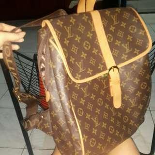 "Backpack ransel LV ""medium size"""