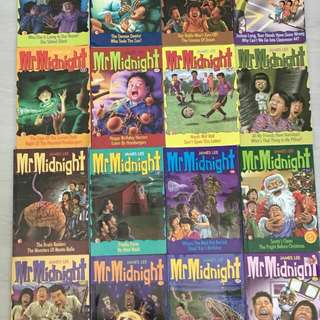 Mr Midnight Story Books