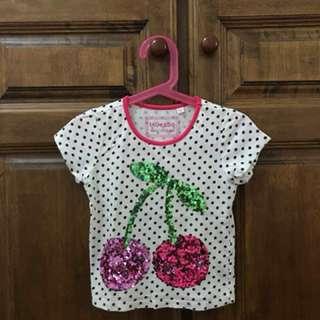 Girls T-shirt 3 to 4yo