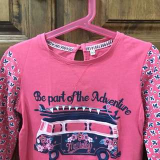 Girls long sleeves 3 to 4yo