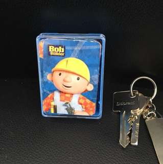Bob builder playing cards