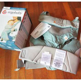 ErgoBaby 360 Cool Air Mesh, Ergo Baby Icy Mint